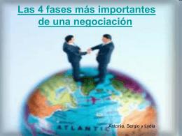 Las 4 fases más importantes de una negociación