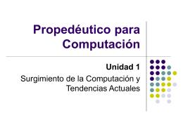 1.1 Historia inicial - Programas y Utilidades