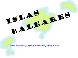 Diapositiva 1 - Menorca Illa de l`esport