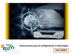 Daewoo DVG-4000N - Multiregion