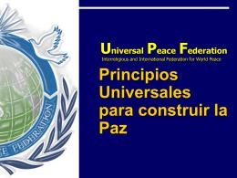 Principios Universales
