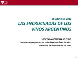 2,6% Otros - Area del Vino