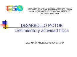 Motricidad - Profesor Parra EDF
