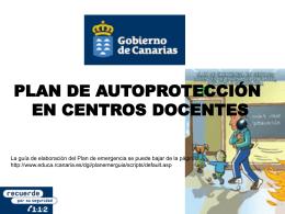 Autoproteccion Centros Escolares