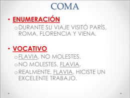 COMA - wikidepruebadeheidischmidt