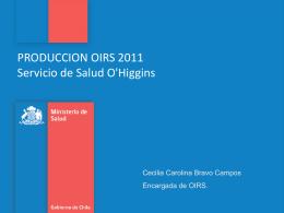 Ejes Plan de Trabajo 2012 Servicio de Salud O`Higgins