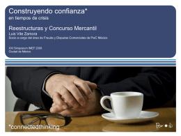 Impacto en la Industria Automotríz Concurso Mercantil