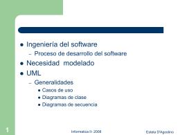 UML-CasosUso-Clases - Departamento de Sistemas e Informática