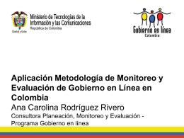 El Modelo de Monitoreo y Evaluación