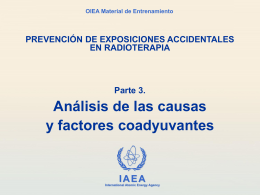 3.1 Otros casos - teleterapia - Radiation Protection of Patients