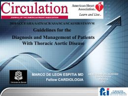 disección aortica - Marco A. de León