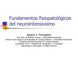Urgencias neurológicas - Sociedad de Medicina Interna de Buenos