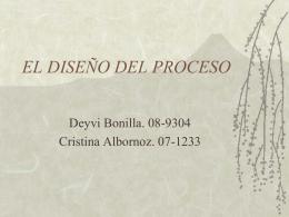 EL DISEÑO DEL PROCESO - ADM-DE-LA-PROD