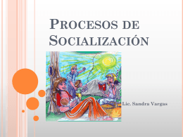Procesos de Socializacion