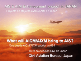 What will AICM/AIXM bring to AIS?