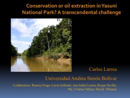 Diapositiva 1 - Amazonía por la Vida