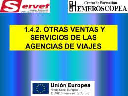 (7)OTRAS VENTAS Y SERVICIOS DE LAS AGENCIAS