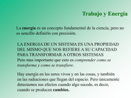 PPT Energia y T
