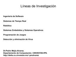 Presentación de PowerPoint - Departamento de Computación