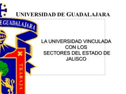 Presentación al Gobernador - Universidad de Guadalajara