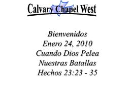no me soltarás - Calvary Chapel West