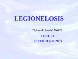Legionelosis - ics