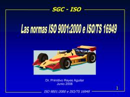 Curso de ISO 9000:2000 - Contacto: 55-52-17-49-12