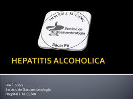 hepatitis alcoholica - Asociación de Gastroenterología y Endoscopía
