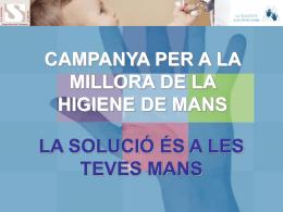 Presentació powerpoint higiene de mans