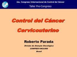 Apresentação do PowerPoint - Instituto Nacional de Câncer