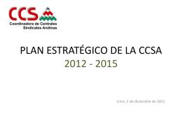 objetivo estratégico resultados estratégicos acciones propuestas