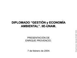 IIE-UNAM - Enrique Provencio