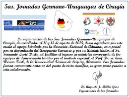 5as Jornadas - Dirección Nacional de Aduanas