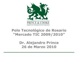 Presentación 26/03 - Polo Tecnológico Rosario