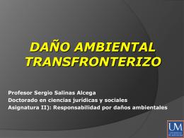 Prevención del daño ambiental internacional