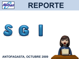 reporte sgi & marketing