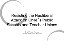 Pinkney Pastrana - AERA Teachers` Work/Teacher Unions SIG
