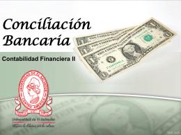 Conciliación Bancaria (Presentación)