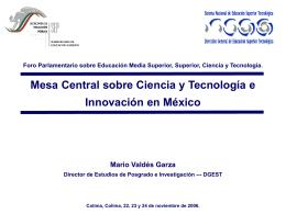 Diapositiva 1 - foro de consulta sobre educación superior y media