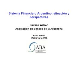 Contenido - ABA Asociación de Bancos de la Argentina