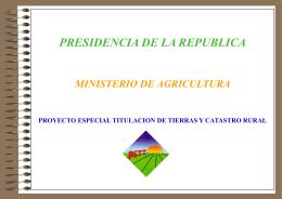 PETT - Congreso de la República del Perú