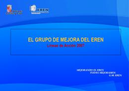 Acciones del Grupo de Mejora 2007 (540 kbytes)