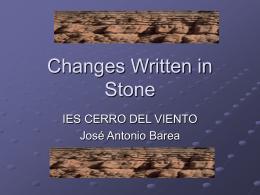 Rocks - IES Cerro del Viento