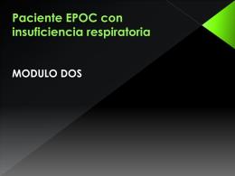 Caso Clínico Junio: Paciente EPOC con Insuficiencia