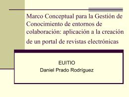 Creación de Revistas Electrónicas Genéricas