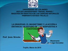 Diapositiva 1 - maestría en didáctica de las ciencias naturales