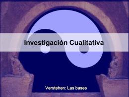 Investigación: plataforma