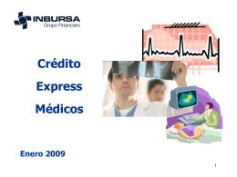 Crédito Express Médicos