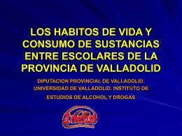 Los Hábitos de Vida y Consumo de Sustancias(401 kB.)