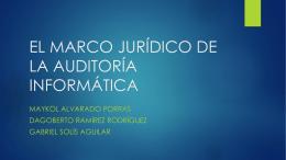 EL MARCO JURÍDICO DE LA AUDITORÍA INFORMÁTICA